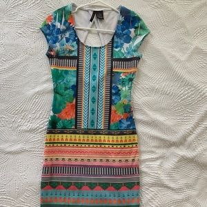 Multicolored Dress size M